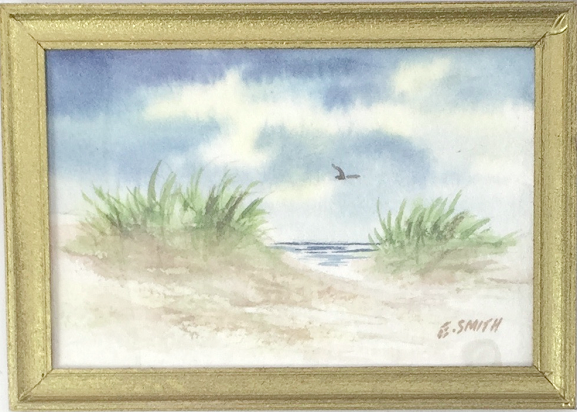 Original - Miniature - 2x3 - Watercolor - Nauset Dunes - 2