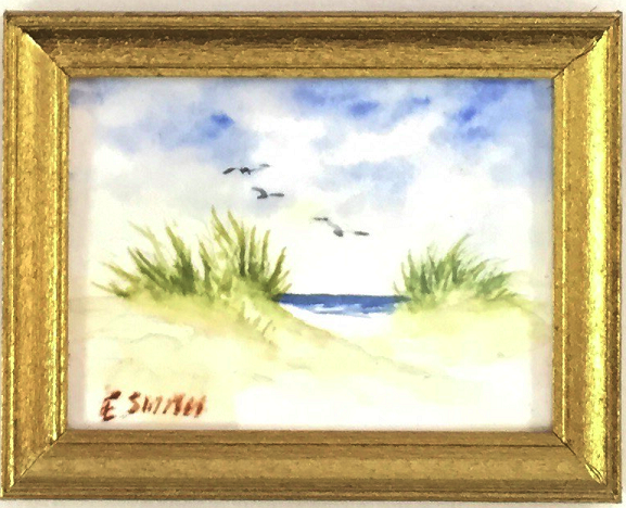 Original - Miniature - 1.5x2 - Watercolor - Nauset Dunes - 1