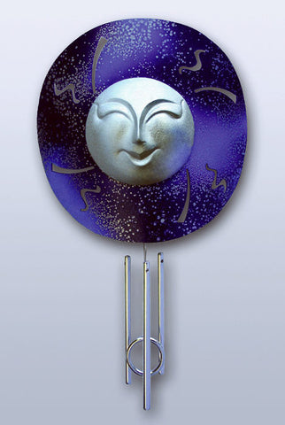 Solar Chime - Window - Window Blue Moon