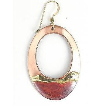 Earrings - 2'' Large Teardrop - NS14