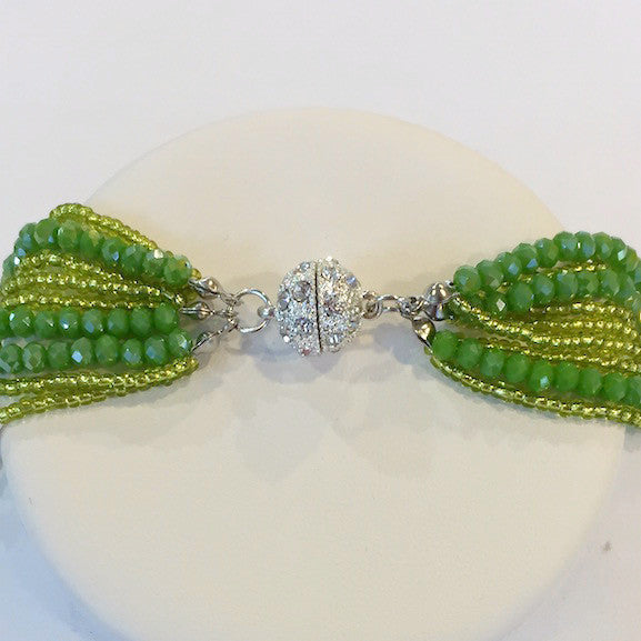 Necklace - Athena - Lime