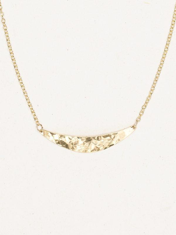 Necklace - Lunette - Gold 10163
