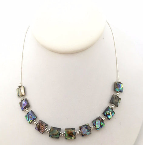 Necklace - Modern Abalone - N517