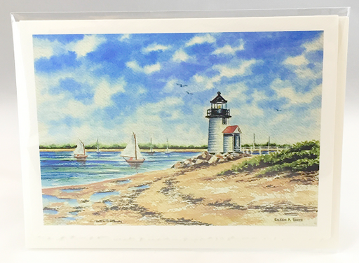 Notecard - Brant Point Light