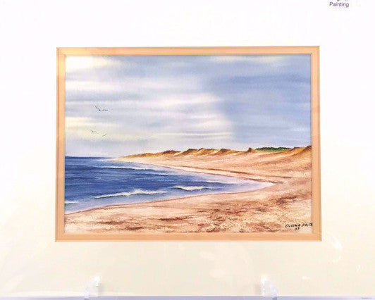 Original - 11x14 - Watercolor - Nauset Beach - Tan Matte