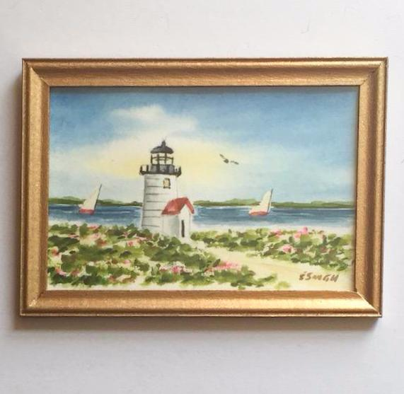 Original - Miniature - 2x3 - Watercolor - Brant Point - 4