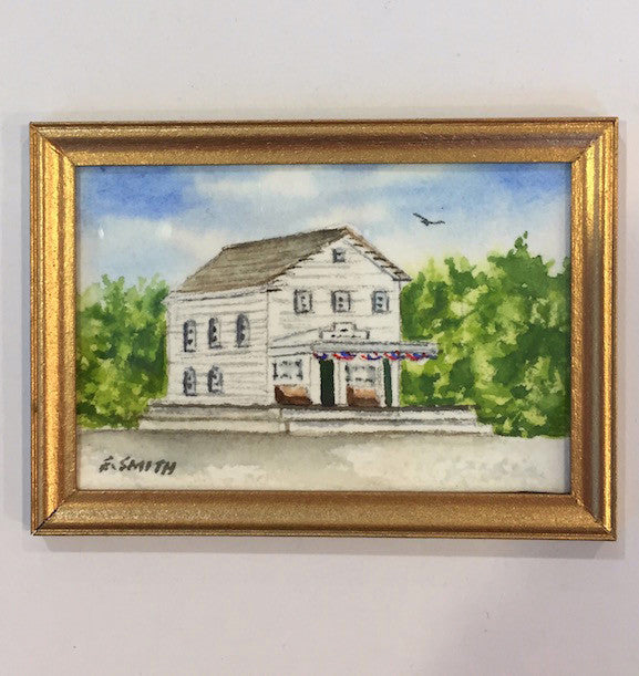 Original - Miniature - 2x3 - Watercolor - Brewster Store - 2