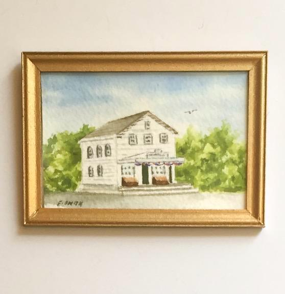 Original - Miniature - 2x3 - Watercolor - Brewster Store - 3