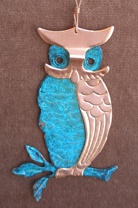 Ornament - Owl - o-24