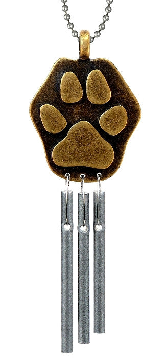 Car Chime - Paw Print