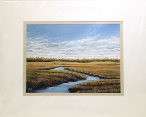 Print - 11x14 - Eastham Marsh - Tan Matte