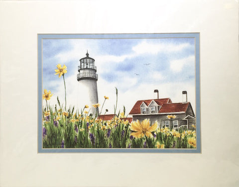 Print - 11x14 - Highland Light - Blue Matte