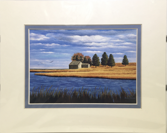 Print - 8x10 - Salt Pond Eastham - Blue Matte