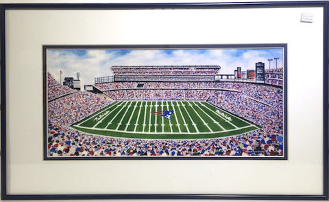 Print - Framed - 12x20 - Gillette Stadium - 1