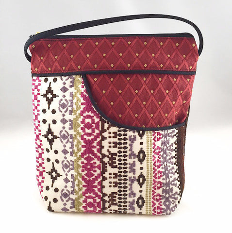 Purse - Bella - Alpine/Ruby
