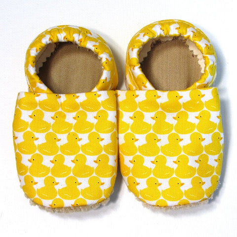 Baby Shoes - 6-12 months - Rubber Duckie