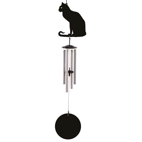 Silhouette Chime - Cat