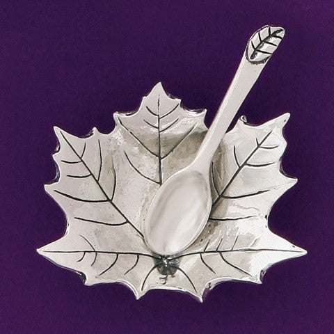 Salt Cellar - Maple Leaf