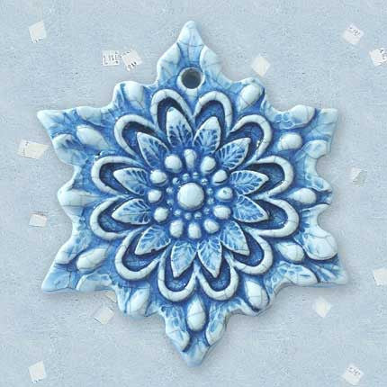 Ornament - Snowflake X