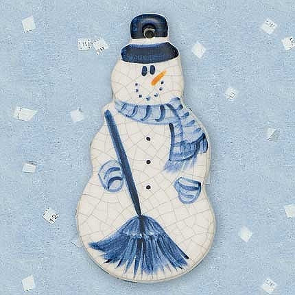 Ornament - Snowman - BP