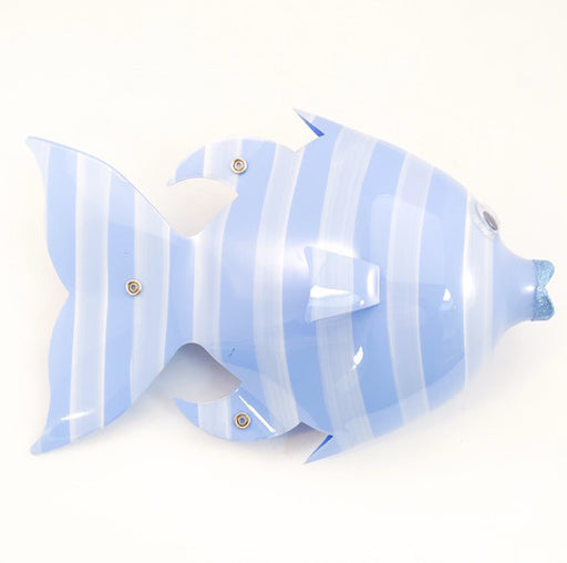 Soda Bottle Fish - Seastriper - Periwinkle Blue