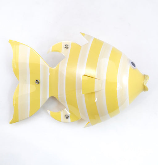 Soda Bottle Fish - Seastriper - Yellow