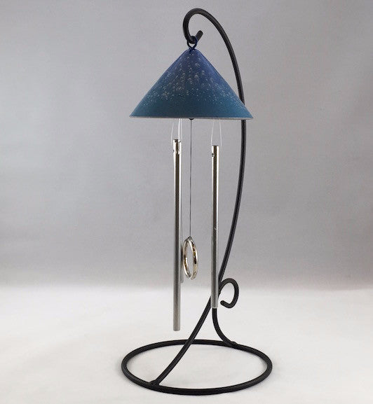 Solar Chime - Table Top Sun Sprite - Blue/Turquoise