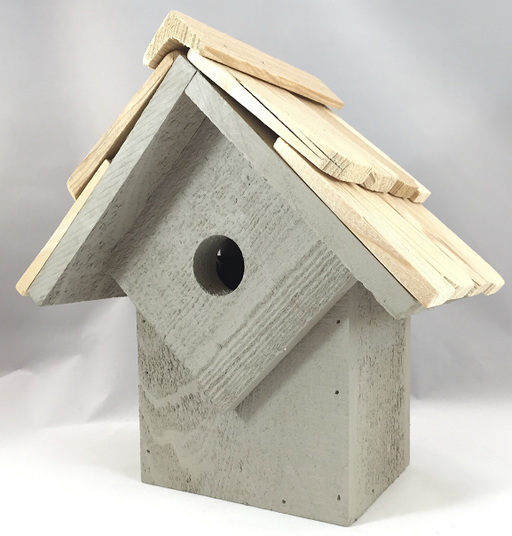 Bird House - Summer Home - Smoke Grey