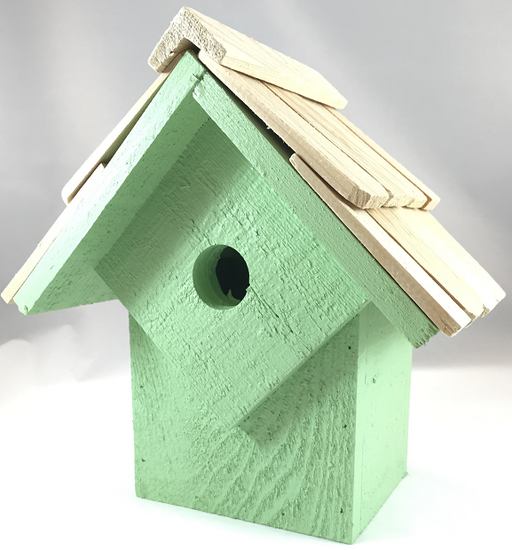 Bird House - Summer Home - Mint Green