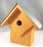 Bird House - Summer Home - Neon Orange