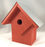 Bird House - Summer Home - Neon Tangerine