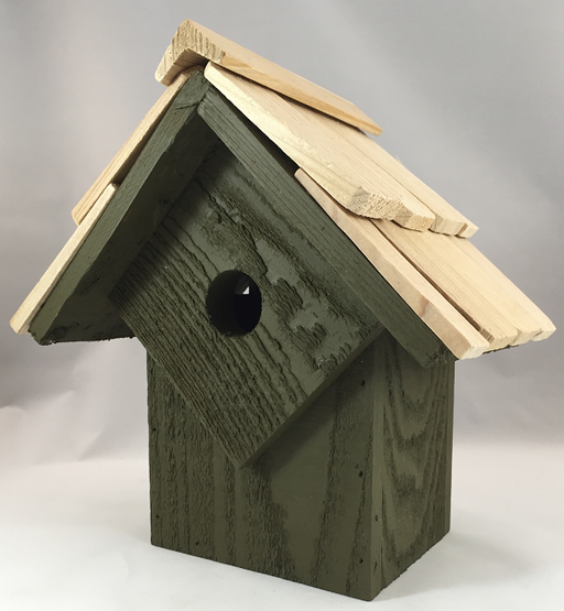 Bird House - Summer Home - Pinion Green