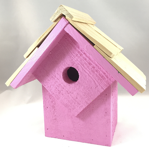 Bird House - Summer Home - Pink