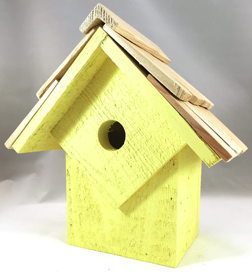 Bird House - Summer Home - Yellow