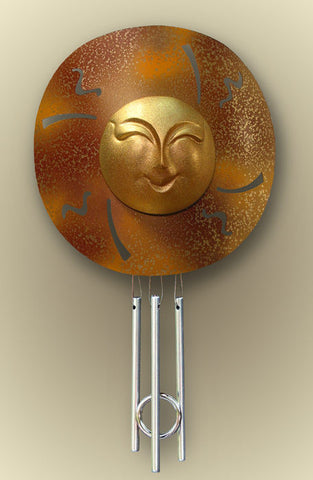 Solar Chime - Window - Sun Face