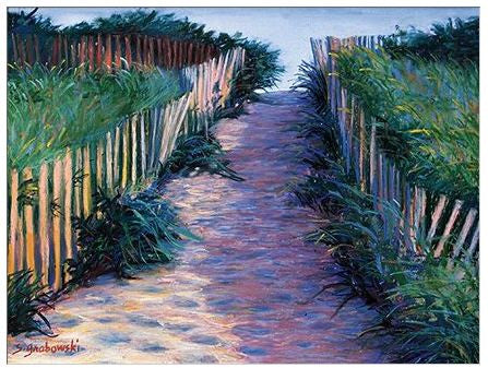 Gift Enclosure Card - Sunset Path - 97