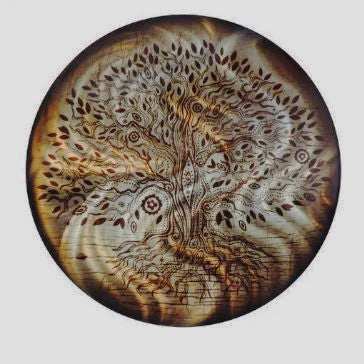 Tree of Life - Amber Refractions