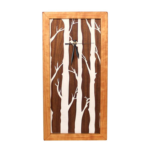 Clock - Tall Box Clock - Birches