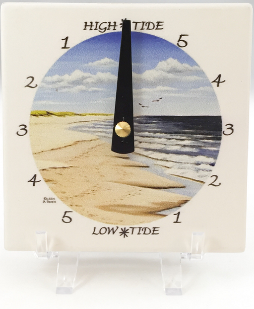 Tide Clock - Desk - The Beach - Black Hand
