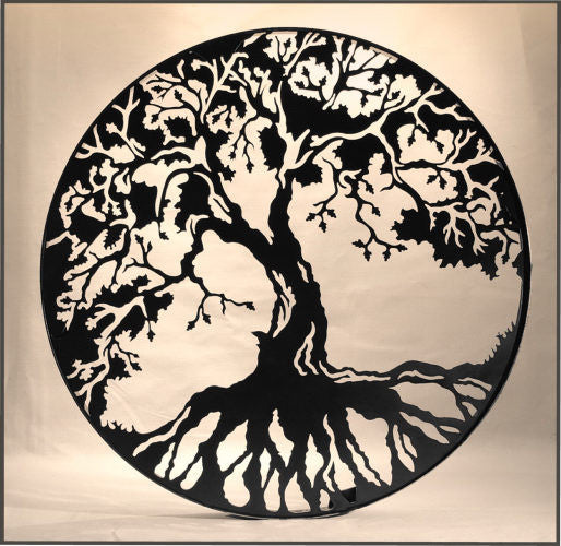 "Tree of Life 24"" Without Band"