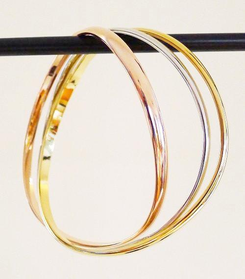 Bracelet - Bangle - Tricolor