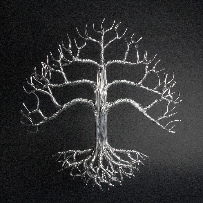Aluminum Wall Tree - Small
