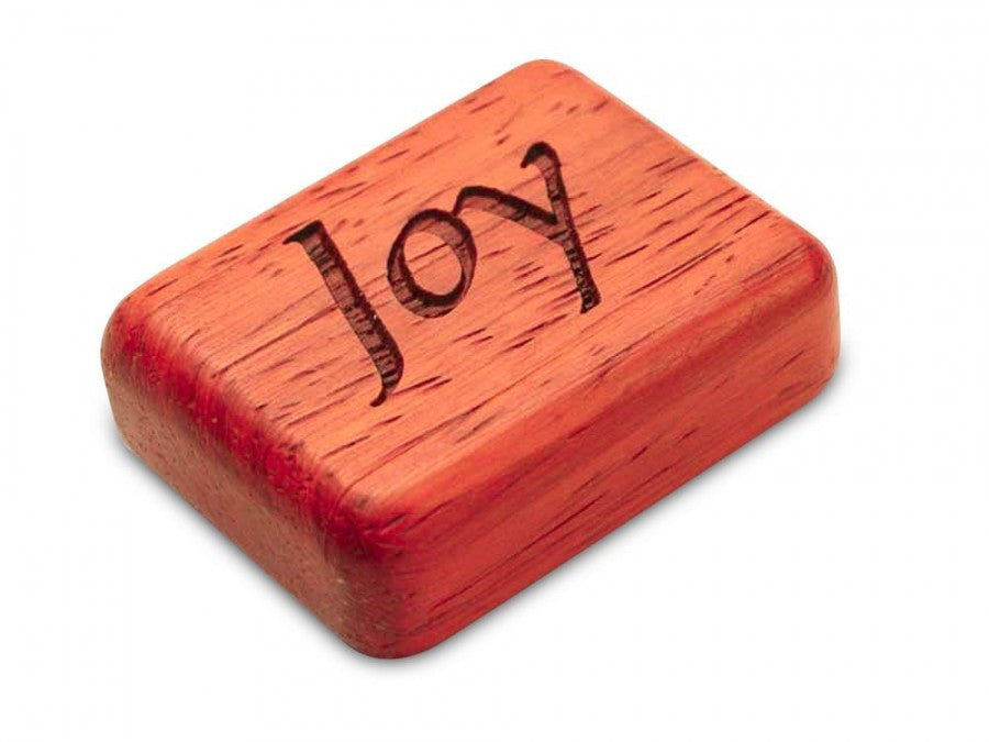Secret Box - Laser Art - Joy - Padauk - 1/2x1 1/2x2 - SC0271-111