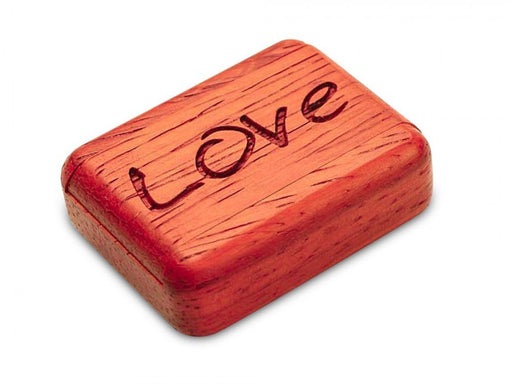 Secret Box - Laser Art - Love - Padauk - 1/2x1 1/2x2 - SC0271-100