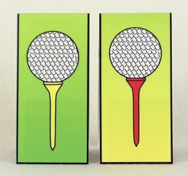 Magnetic Bookmark - Golf - MBK09