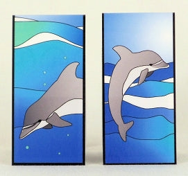 Magnetic Bookmark - Dolphins - MBK141