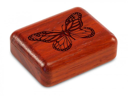 Secret Box - Laser Art - Butterfly - Padauk - 1/2x1 1/2x2 - SC0271-459