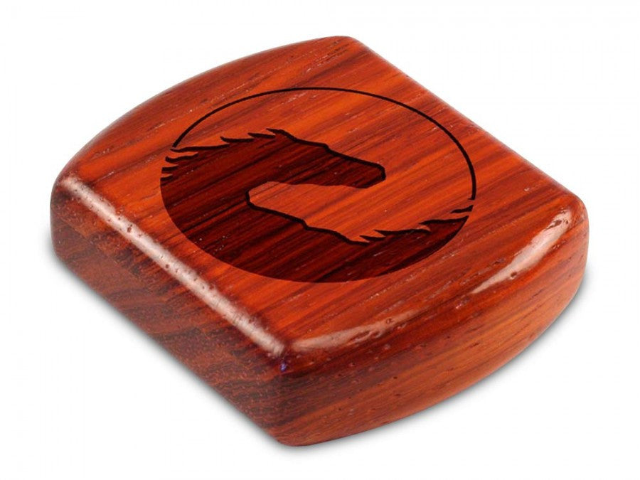 Secret Box - Laser Art - Horses - Padauk - 1/2x2x2 - SC2271-394