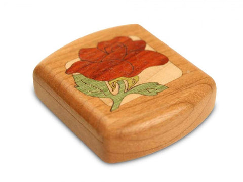 Secret Box - Botanical Marquetry - Rose - Cherry - 1/2x2x2 - SC2251-35