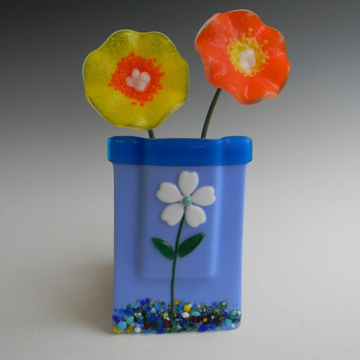 Glass Pocket Vase - Flower
